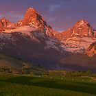 Teton Valley Sunset by Ryan Wright