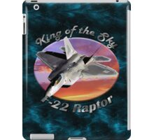 F-22 Raptor King Of The Sky iPad Case/Skin