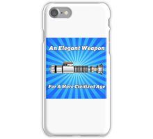 The Lightsaber - An Elegant Weapon iPhone Case/Skin