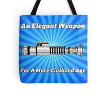 The Lightsaber - An Elegant Weapon Tote Bag