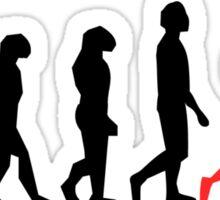 Running Evolution Sticker
