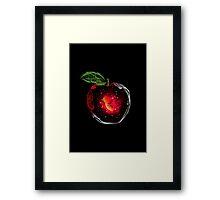 smoke apple Framed Print