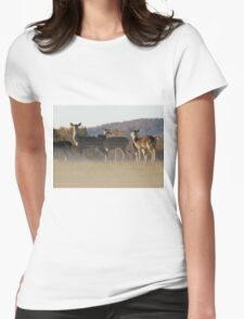 Axis Deer Womens Fitted T-Shirt