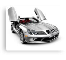 Mercedes Benz SLR McLaren super car art photo print Canvas Print