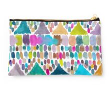 PAINTERLY HILLS TRIBAL Studio Pouch