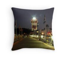Harbour Town Lighthouse, Hilton Head Throw Pillow