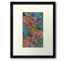 Dripping Colors 3 Framed Print