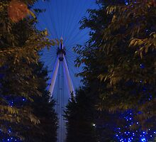 The London Eye by brettus1989