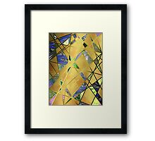 Chaos In The Sea Framed Print
