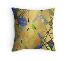 Chaos In The Sea Throw Pillow