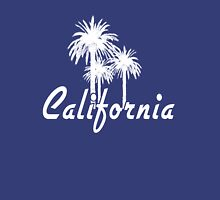 California Palm Trees Womens Fitted T-Shirt