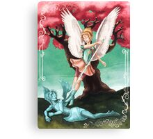 Pearl the Archangel Canvas Print