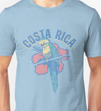 Costa Rica Parrot Unisex T-Shirt