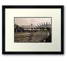 East River View - NYC, NY Framed Print