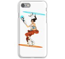 Portal 2 fanart  iPhone Case/Skin