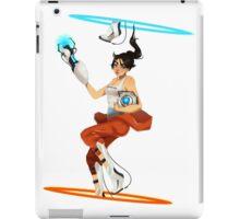 Portal 2 fanart  iPad Case/Skin