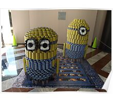Canstruction, Sculpture Made of Food Cans, World Financial Center, New York City Poster