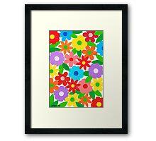 FLOWER SPLENDOR Framed Print