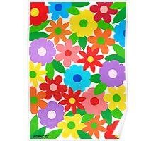 FLOWER SPLENDOR Poster