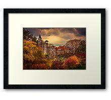 Autumn At Belvedere Castle Framed Print