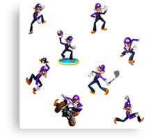 Girls, hit your WALUIGI Canvas Print