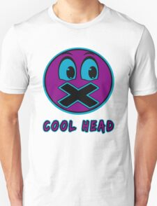 Cool Head Purple And Teal T-Shirt