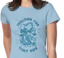 Freedom for Tibet Womens Fitted T-Shirt