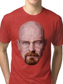 walter white breaking bad Tri-blend T-Shirt