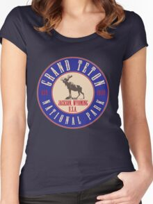 Grand Teton National Park Women's Fitted Scoop T-Shirt