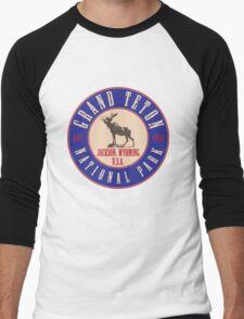 Grand Teton National Park Men's Baseball ¾ T-Shirt