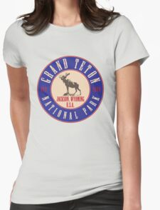 Grand Teton National Park Womens Fitted T-Shirt