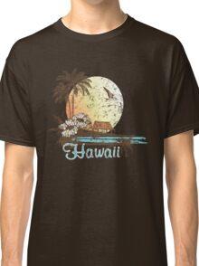 Hawaii Vintage Tropical Scene Classic T-Shirt