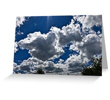 """""""A Ray of Sun"""" Greeting Card"""