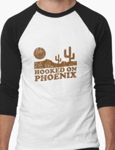 Hooked on Phoenix Men's Baseball ¾ T-Shirt