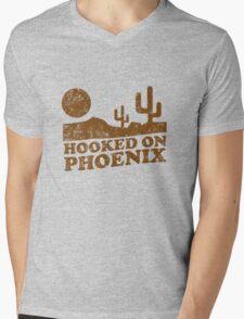 Hooked on Phoenix Mens V-Neck T-Shirt