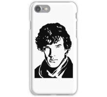 Benjamin Cumberbatch Sherlock Holmes iPhone Case/Skin