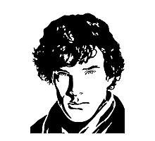 Benjamin Cumberbatch Sherlock Holmes Photographic Print