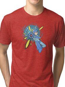 Megaman Megaman! Tri-blend T-Shirt