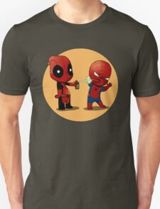 Deadpool and Spiderman T-Shirt