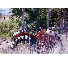 High mobility tractor Photographic Print
