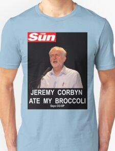 Jeremy Corbyn ate my broccoli T-Shirt