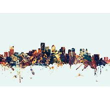 Boston Massachusetts Skyline Photographic Print