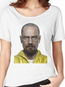 walter white head breaking bad Women's Relaxed Fit T-Shirt
