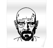 Bryan Cranston - Walter White - Breaking Bad Poster