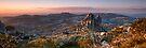Cathedral Dusk - Mount Buffalo, Victoria, Australia. by Sean Farrow