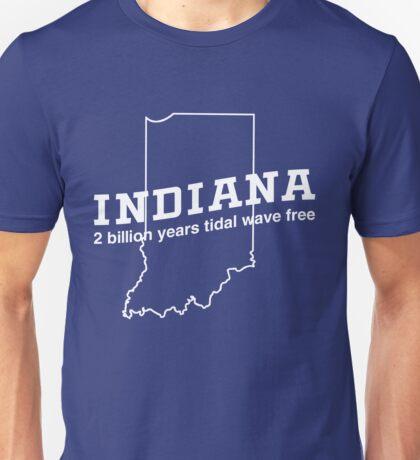 Indiana. 2 billion years tidal wave free Unisex T-Shirt