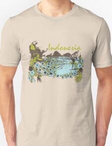 Indonesia Tropical T-Shirt