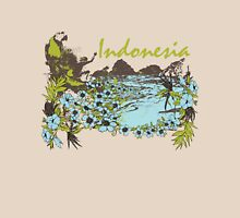 Indonesia Tropical Unisex T-Shirt