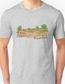 Kansas Country Scene T-Shirt