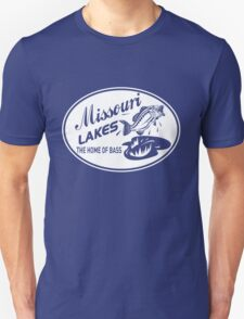 Missouri Lakes. The home of the bass T-Shirt